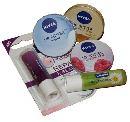 Labellos und Nivea Lipcare 2012