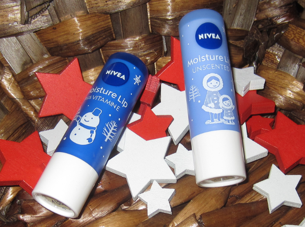 Nivea Lip Care Japan Winter 2014-15 Limited Edition Moisture Lip Plus Vitamin E Moisture Lip Unscented Snow