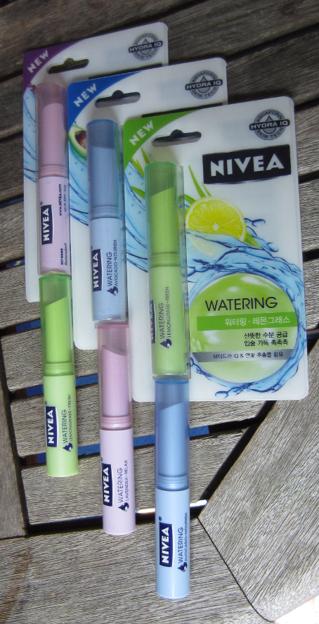 Nivea Watering Avocado Nourish Lemongrass Fresh und Lavender Relax